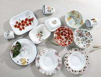 欧式花瓣餐具