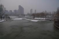 雪后人民公园
