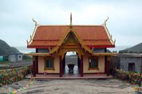 海南铜鼓岭寺庙建筑佛光寺