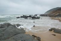 海南文昌小澳湾美丽的风景
