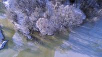 冰河丛林雾凇 (航拍)