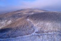 林海雪原雾凇 (航拍)