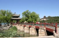 颐和园知春桥