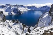 冬季长白山天池