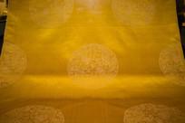 金色花纹图案