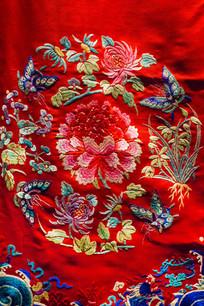 龙纹旗袍古典花纹