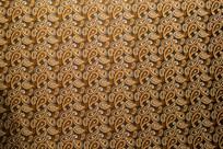旗袍金色古典文化花纹