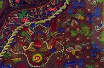 旗袍龙纹花纹