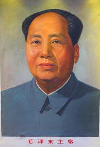 油画毛泽东