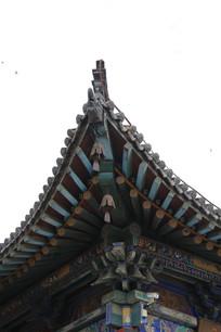 彩绘中式飞檐