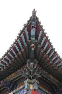 传统中式斗拱飞檐