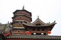 应县木塔群楼