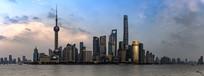 上海外滩陆家嘴高楼大厦