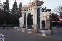 清华大学清华园牌楼