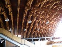 象山美院中式结构房顶