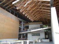 象山美院中式结构建造