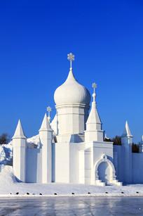 索菲亚教堂雪雕灯主体结构