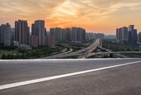 郑州郑东CBD城市风光