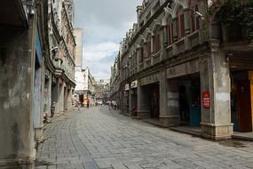 怀旧的海南文昌文南老街