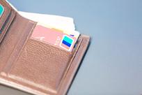 信用卡和钱包