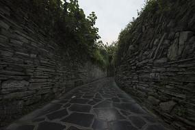 贵州青岩古镇石板小巷