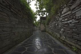 青岩古镇石板街道