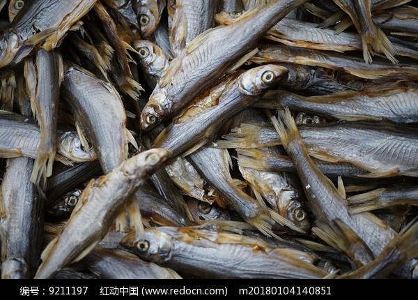 腌制的白鲦鱼鲫鱼年货图片