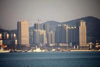 滨海建筑楼群