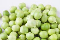 绿色的嫩豌豆