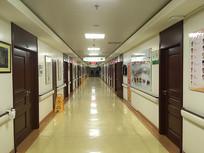 宁静的医院楼道