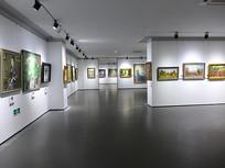 油画展展厅