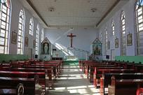 天主教堂内部