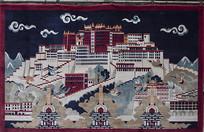 布达拉宫挂毯