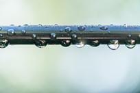 金属上的水滴