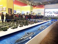 陆海空三军装备模型