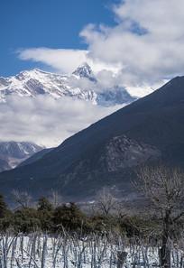南迦巴瓦雪山