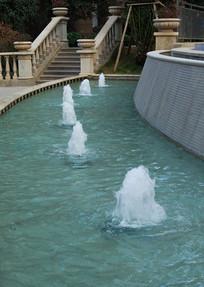 高档住宅小区景观喷泉