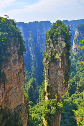 张家界国家森林公园石笋