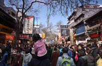 陕西回民街(民族街)老街