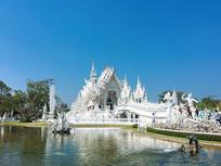 泰国清莱白庙