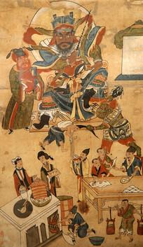 梅山文化绘画