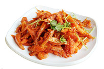 韩式拌明太鱼