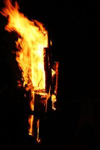 篝火火把火焰