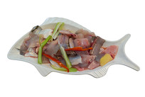 火锅烫菜菜品花鲢鱼肉