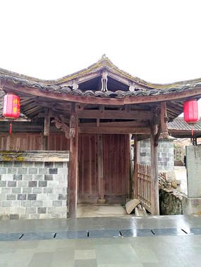 乡村某文化礼堂建筑