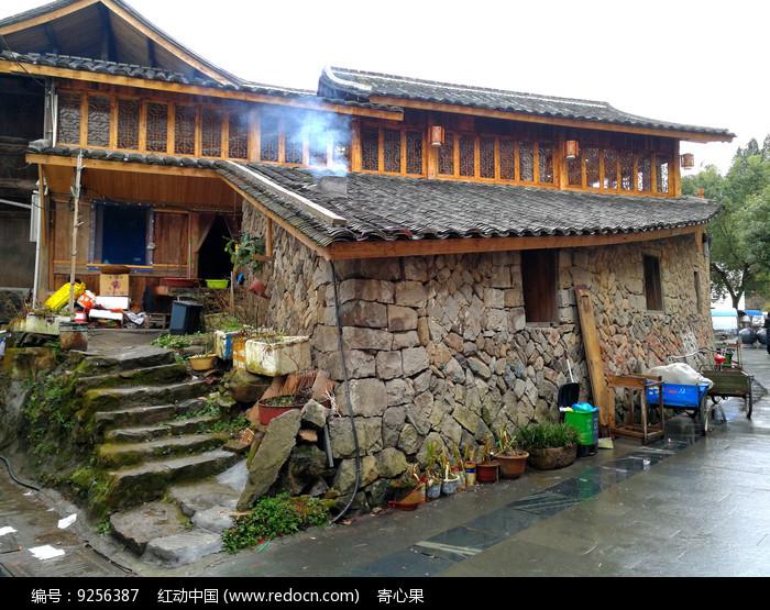 乡村人家建筑图片