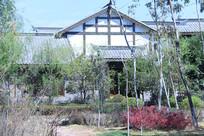 花园与仿古建筑
