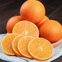 切成一片一片的橙子