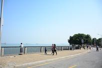 海边的栈道