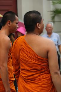 泰国僧人特写